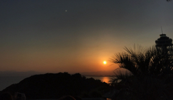 太陽のサイズを日の入りの観察によって計算してみた!